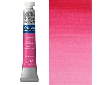 COTMAN WATERCOLOUR 8ML PERMANENT ROSE