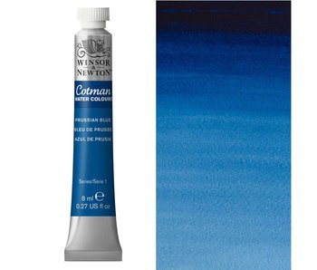 COTMAN WATERCOLOUR 8ML PRUSSIAN BLUE