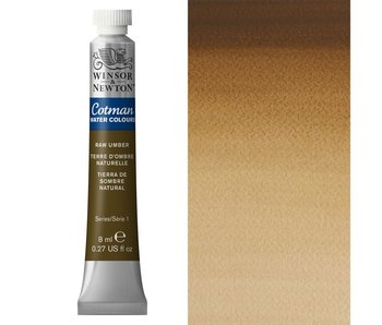 COTMAN WATERCOLOUR 8ML RAW UMBER