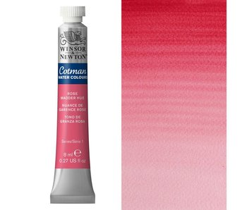 COTMAN WATERCOLOUR 8ML ROSE MADDER HUE
