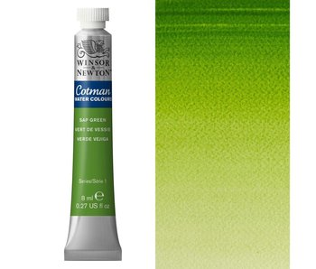 COTMAN WATERCOLOUR 8ML SAP GREEN