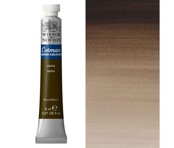 COTMAN WATERCOLOUR 8ML SEPIA