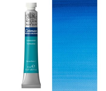 COTMAN WATERCOLOUR 8ML TURQUOISE