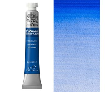 COTMAN WATERCOLOUR 8ML ULTRAMARINE BLUE