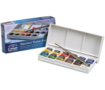 COTMAN SKETCHER'S POCKET BOX SET