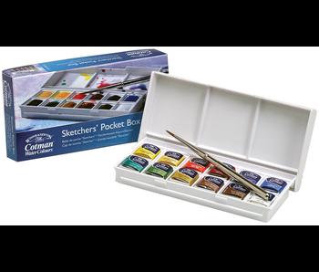 Cotman Watercolour Sketcher'S Pocket Box