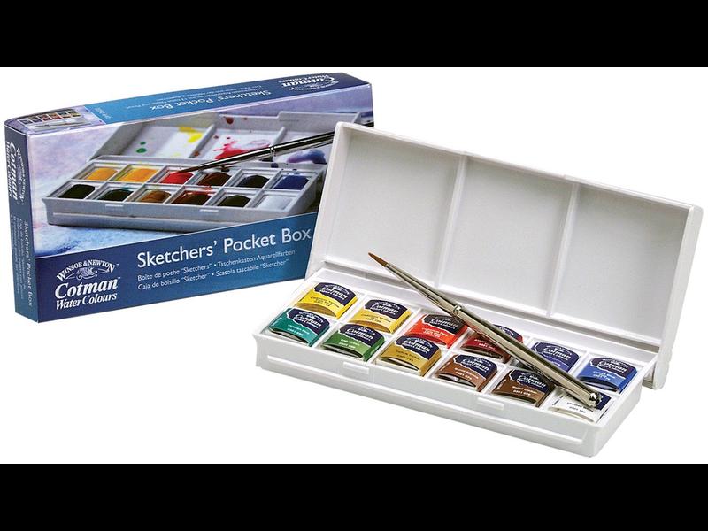 COTMAN SKETCHER'S POCKET BOX SET