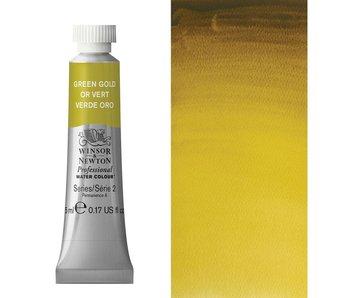 W&N ARTIST'S WATER COLOUR 5ML GREEN GOLD