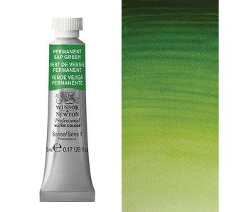 W&N ARTIST'S WATER COLOUR 5ML PERMANENT SAP GREEN
