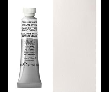 W&N ARTIST'S WATER COLOUR 5ML TITANIUM WHITE