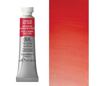 W&N ARTIST'S WATER COLOUR 5ML CADMIUM RED DEEP