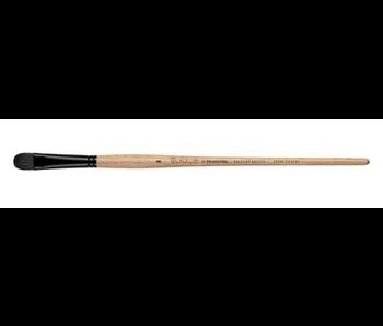 Princeton Catalyst Polytip Oil & Acrylic Brushes, Bristle Brushes, Short Filbert #8