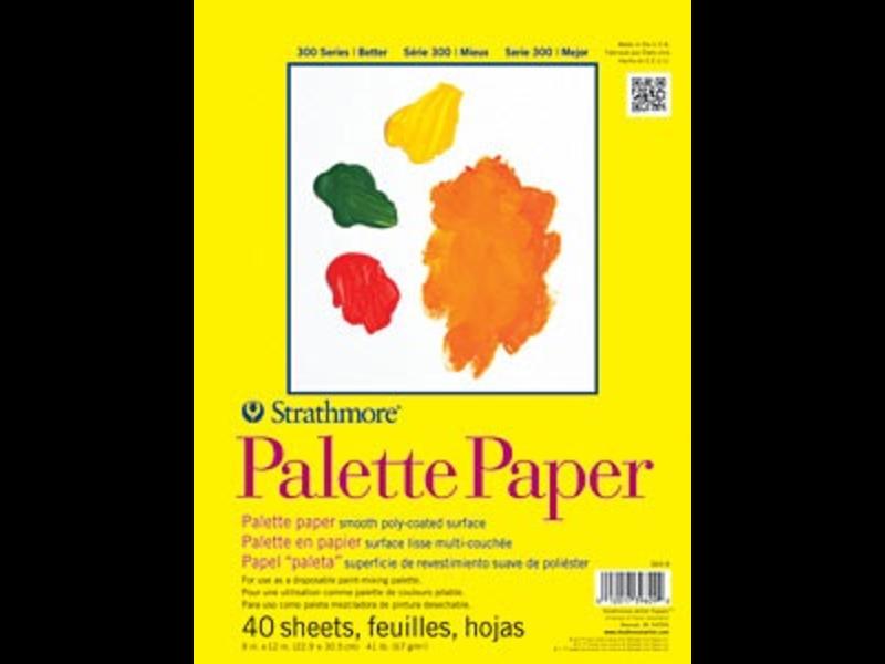 STRATHMORE PALETTE PAPER 9X12
