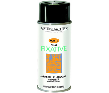 GRUMBACHER MATTE FINAL FIXATIVE 11.75OZ