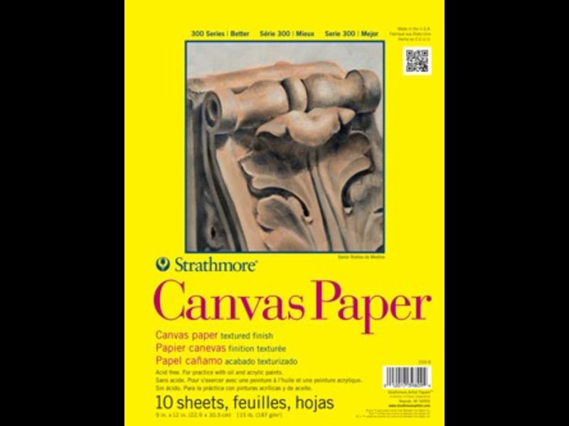 STRATHMORE CANVAS PAPER 12x16
