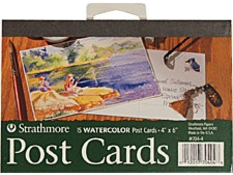 STRATHMORE POST CARDS WATERCOLOR 4x6