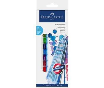 Faber Castell Watercolours Starter Kit Box Of 12