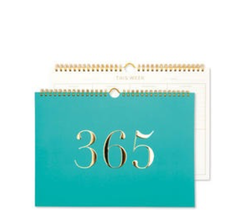 GO STATIONERY WEEKLY PLANNER LARGE TEAL
