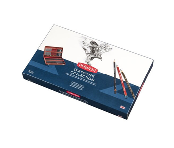 DERWENT SKETCHING COLLECTION 72 PENCILS