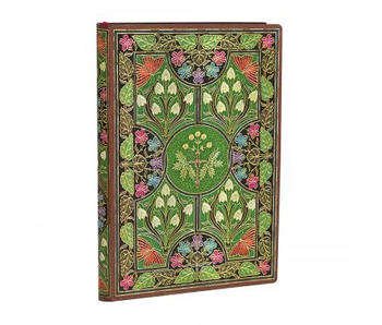 PAPERBLANKS FLEXIS POETRY IN BLOOM MINI UNLINED 176 PAGES
