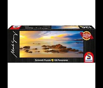 SCHMIDT PUZZLE 136 PANORAMA: FRIENDLY BEACHES, TASMANIA, AUSTRALIA
