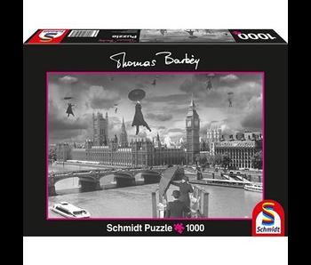 SCHMIDT PUZZLE 1000: THOMAS BARBEY - BLOWN AWAY