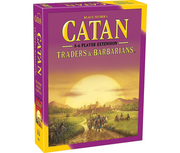CATAN 5-6 PLAYER EXTENSION: TRADERS & BARBARIANS
