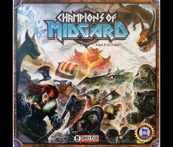 CHAMPIONS OF MIDGARD BOARDGAME