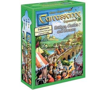 CARCASSONNE EXP 8: BRIDGES, CASTLES, & BAZAARS
