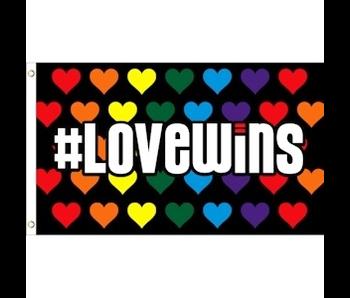 #LOVEWINS RAINBOW PRIDE FLAG - 3'X5'