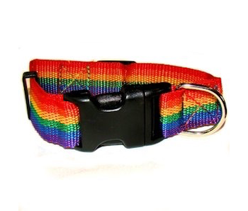 GAY PRIDE PET COLLAR SMALL