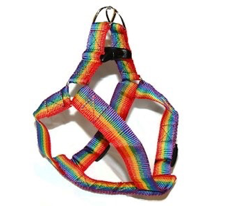 GAY PRIDE PET HARNESS