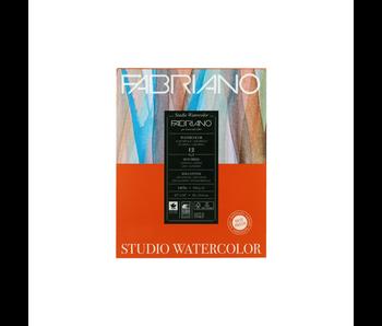 FABRIANO WATERCOLOR PAPER 140LB HOT PRESS 11X14  12 SHEETS/PAD