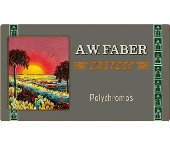 A.W. Faber Castell Polychromos Artists Colored Pencil Retro Tin 36