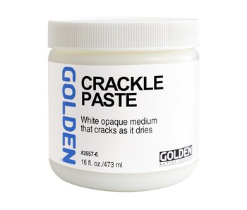 Golden Medium 16oz Crackle Paste