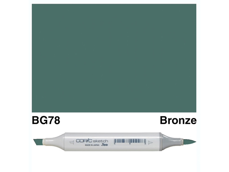 Copic Sketch Bg78 Bronze Endeavours And Thinkplay