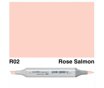 COPIC SKETCH R02 Rose Salmon