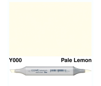 COPIC SKETCH Y000 PALE LEMON