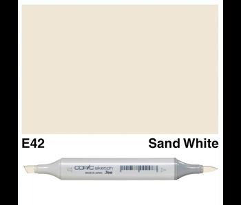 COPIC SKETCH E42 SAND WHITE