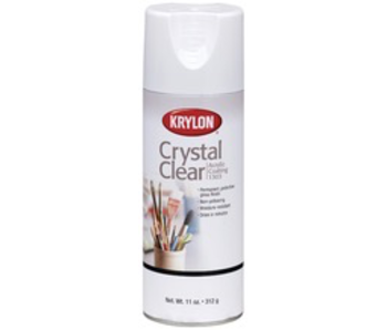 KRYLON CRYSTAL CLEAR 11OZ