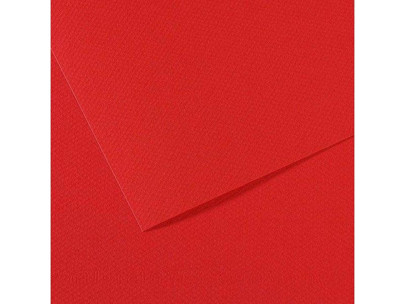 CANSON MI-TEINTES 8.5x11 RED