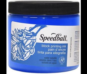 SPEEDBALL BLOCK PRINTING INK 16OZ BLUE
