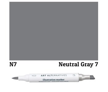 AA ILLUSTRATION MARKER NEUTRAL GRAY 7