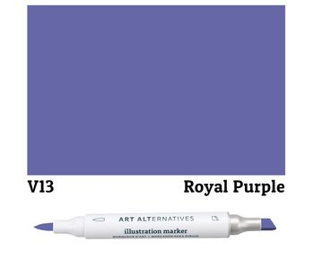 AA ILLUSTRATION MARKER ROYAL PURPLE