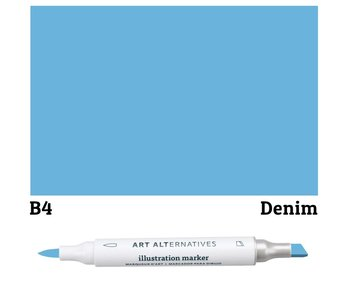 AA ILLUSTRATION MARKER DENIM