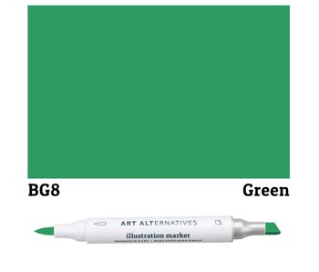 AA ILLUSTRATION MARKER GREEN