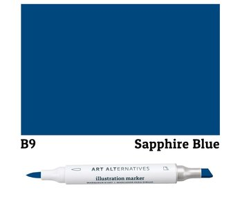 AA ILLUSTRATION MARKER SAPHIRE BLUE