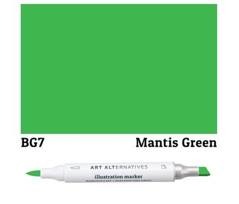 AA ILLUSTRATION MARKER MANTIS GREEN