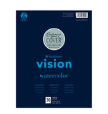 STRATHMORE VISION RECYCLED WATERCOLOR PAD 11x15 140LB 30 sheets per pad