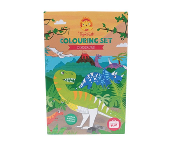TIGER TRIBE COLOURING SET: DINOSAURS